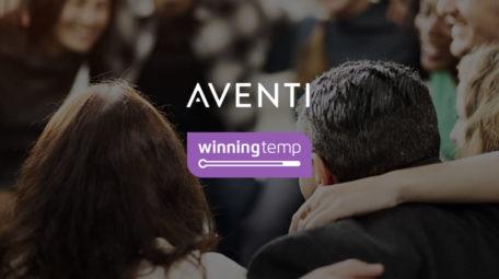 samarbete Aventi – Winningtemp